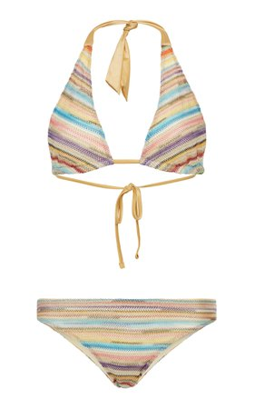 Missoni Mare Striped Bikini Set