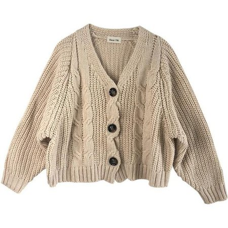beige cozy oversized cable knit sweater