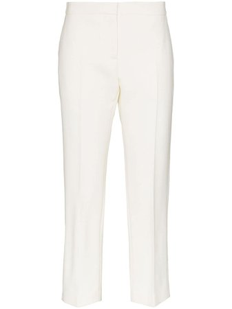 Alexander McQueen Cropped Tailored Trousers - Farfetch