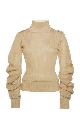 Lightweight Spirals Knit Sweater By Bottega Veneta   Moda Operandi