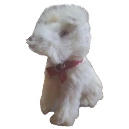 Vintage Fur Covered Dog Doll Companion : Your-Favorite-Doll | Ruby Lane