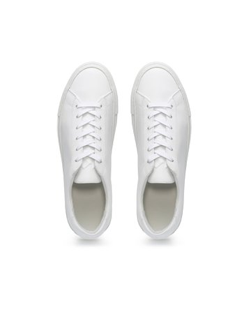 The Koio Capri Low-Top Sneakers-Leather - White | M.M.LaFleur