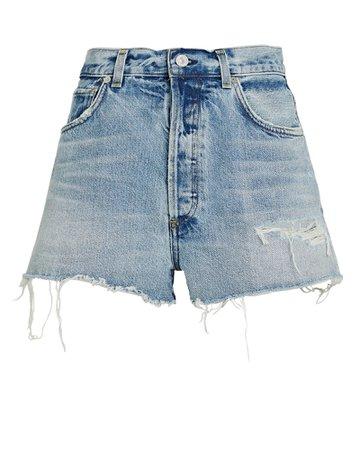 Citizens of Humanity Kaia Denim Cut-Off Shorts | INTERMIX®