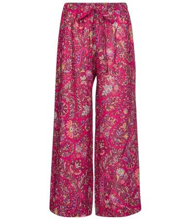 Etro - Floral wide-leg pants | Mytheresa