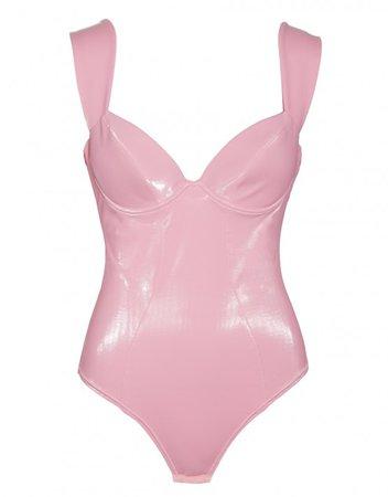 Frosting Bodysuit Pink | MURMUR
