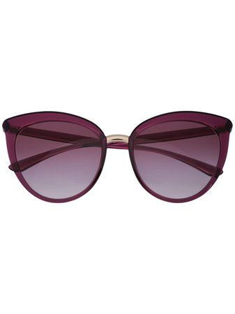 Dolce & Gabbana Eyewear Large Cat Eye Frame Sunglasses
