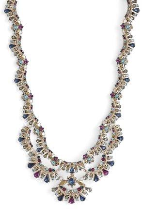 Marchesa Crystal Collar Necklace | Nordstrom