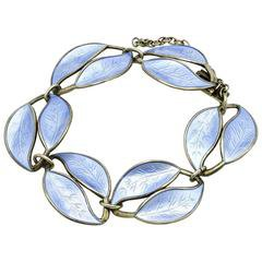 Sterling Silver Art Deco Bracelet with Lemon Quartzes, Featured in Vogue For Sale at 1stdibs