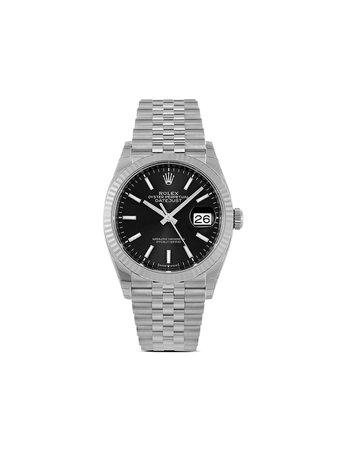 Rolex Oanvänd Datejust 36 Mm Klocka Från 2021 - Farfetch