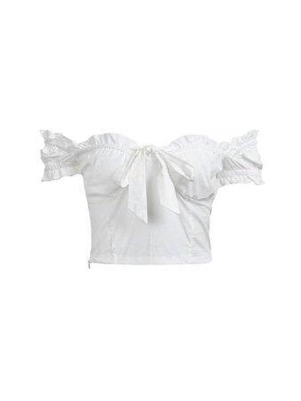 white Lolita top