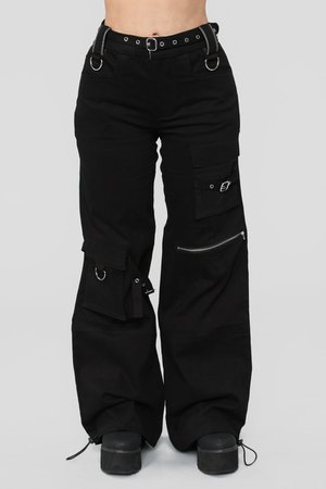 Emerson Cargo Pants - Black