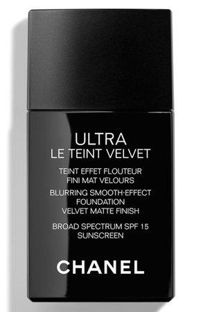 CHANEL ULTRA LE TEINT Velvet Blurring Smooth-Effect Foundation SPF 15 | Nordstrom