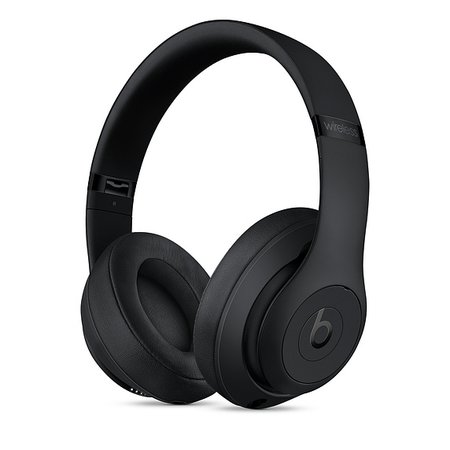 Beats Studio3 Wireless Over-Ear Headphones - Matte Black - Apple