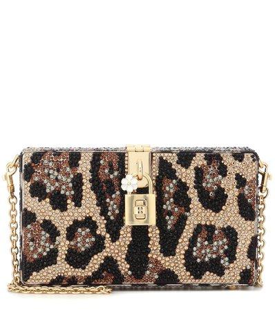 Dolce Box Embellished Clutch - Dolce & Gabbana   mytheresa