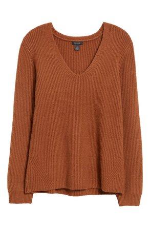 Halogen® Balloon Sleeve Sweater | Nordstrom