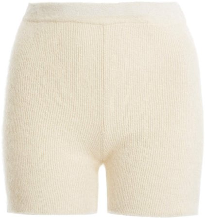 Jacquemus Arancia Knit Mini Shorts