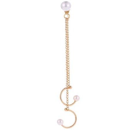Punk Style Long Chain Tassel Dangle Ear Cuff Wrap Cold Color Women Earrings 1PC   eBay