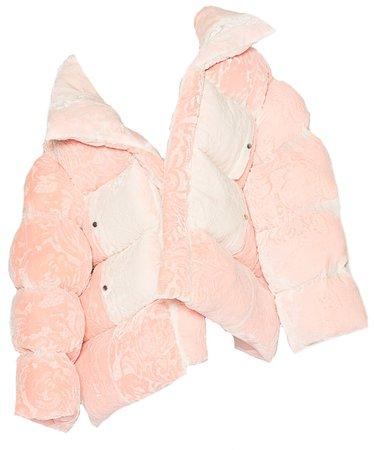 Oversized Puffer Pink Coat