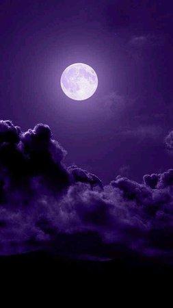 ...under the purple moon!   Purple in 2019   Purple sky, Purple aesthetic, Purple