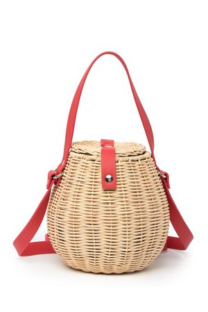 Straw Studios | Bamboo Bucket Bag | Nordstrom Rack
