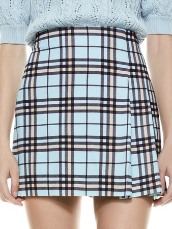 Semira Plaid Mini Skirt