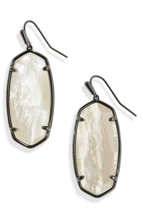 Kendra Scott Faceted Elle Drop Earrings   Nordstrom