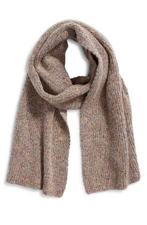 Something Navy Knit Scarf (Nordstrom Exclusive) | Nordstrom