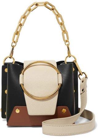 Yuzefi - Delila Mini Leather Shoulder Bag - Black