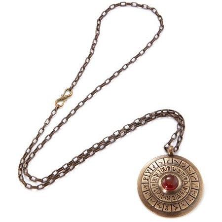 STARGATE Antiqued Brass & Carnelian Dial Home – RockLove Jewelry
