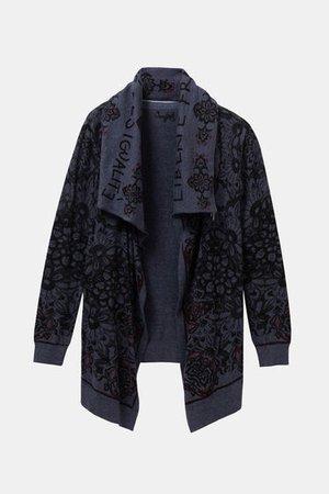 Neck cape jacket | Desigual.com