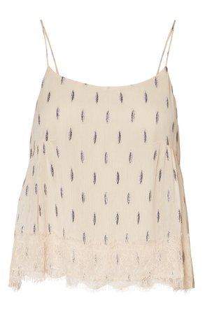 VERO MODA Shimmer Print Camisole | Nordstrom
