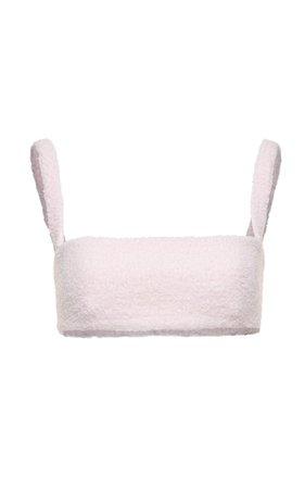 Boucle-Knit Cropped Top By Magda Butrym | Moda Operandi