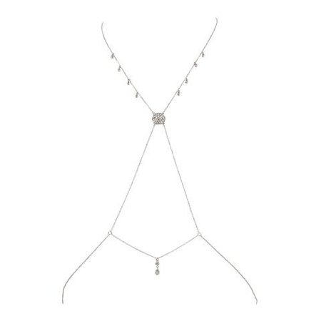 Silver Body Chain | ShopLook