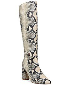 INC International Concepts INC Paiton Block-Heel Boots, Created for Macy's & Reviews - Boots - Shoes - Macy's