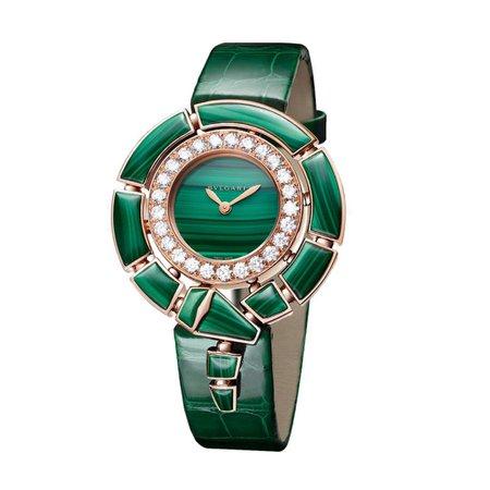 Bvlgari Serpenti Incantati Watch Green Emerald