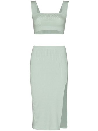 Reformation Ozzie Top And Skirt Set - Farfetch