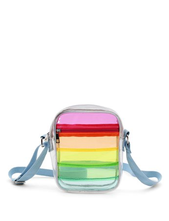Chateau Clear Rainbow Crossbody Bag | Stage Stores