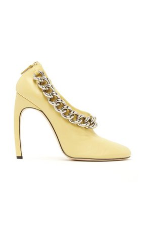 Carmen Embellished Leather Pumps By Victoria Beckham | Moda Operandi