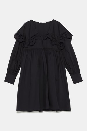 POPLIN MINI DRESS-Mini-DRESSES-WOMAN   ZARA United States