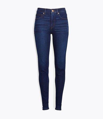 Petite Curvy Skinny Jeans in Classic Dark Indigo Wash