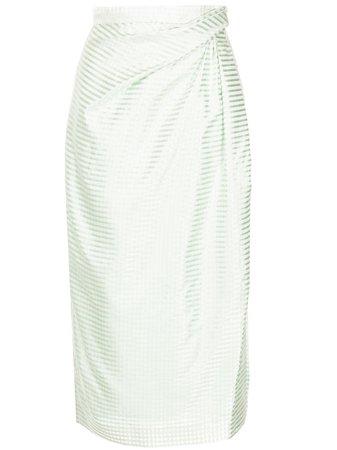 Carolina Herrera, striped pencil skirt