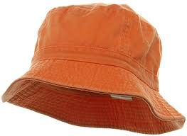 orange bucket hat - Google Search