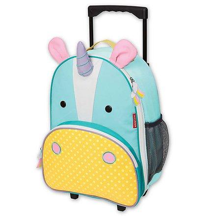 SKIP*HOP® Zoo Little Kid Rolling Luggage in Unicorn   buybuy BABY