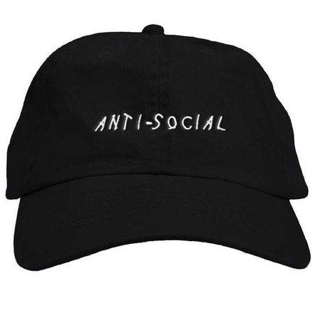 anti-social hat