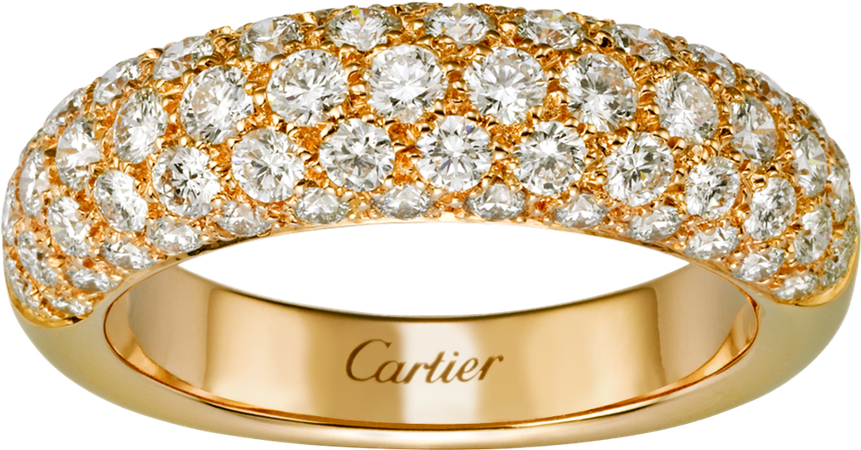 Etincelle de Cartier ring Yellow gold, diamonds