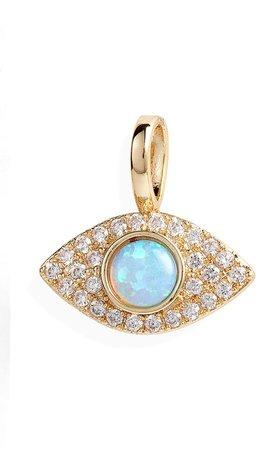 Icons Opal Evil Eye Charm