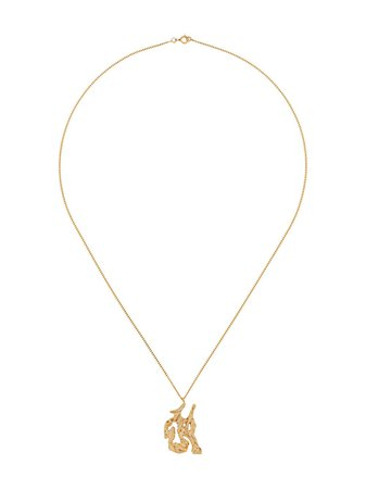LOVENESS LEE Snake Chinese Zodiac Necklace - Farfetch