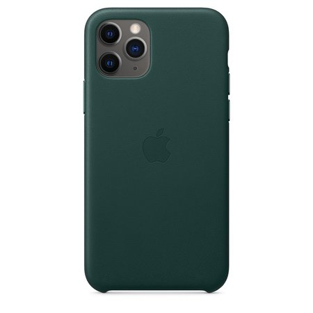 iPhone 11 Pro Leather Case - Forest Green - Apple