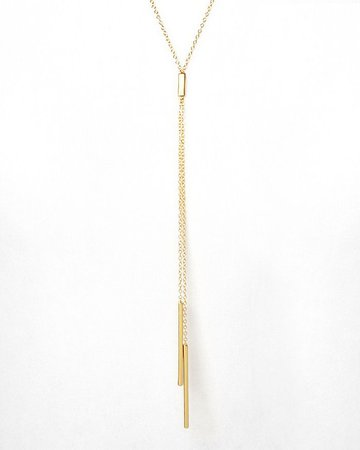 "Gorjana Mave Lariat Necklace, 18.5""   Bloomingdale's"