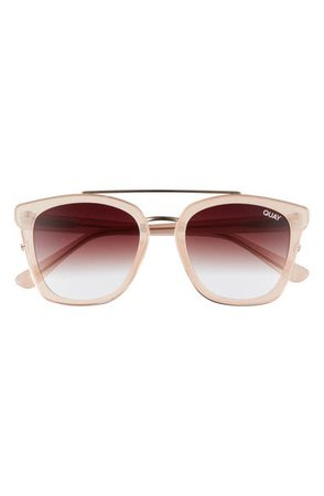 Quay Australia Sweet Dreams 51mm Square Sunglasses | Nordstrom